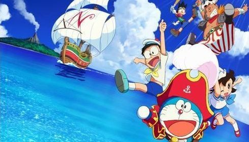 2018年アニメ映画「ドラえもん のび太の宝島」脚本は「君の名は。」の川村元気